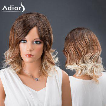 Adiors Hair Medium Side Parting Multi Color Wavy Synthetic Wig