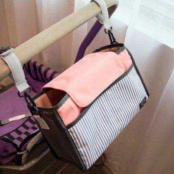 Baby Changing Nappy Bags for Prams Pushchairs Strollers - PINK PINK