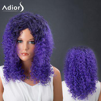 Medium Afro Curly Colormix Adiors Hair Synthetic Wig