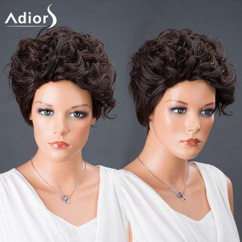 Adiors Hair Short Pixie Cut Curly Synthetic Wig