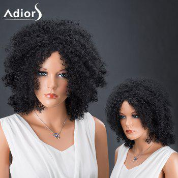 Adiors Hair Afro Curly Medium Fluffy Synthetic Wig
