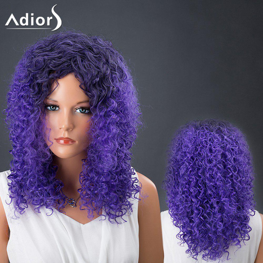 Medium Afro Curly Colormix Adiors Hair Synthetic Wig russian origins of the first world war