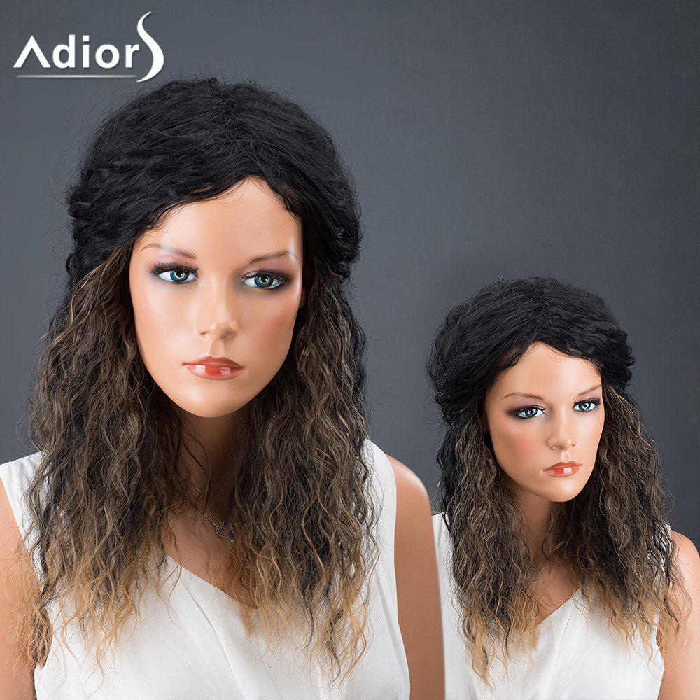 Adiors Hair Synthetic Afro Curly Medium Colormix Wig
