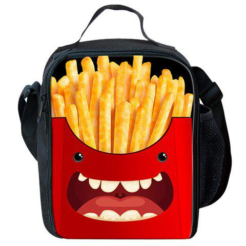 Cartoon Imprimer Lunch Box thermique - Rouge