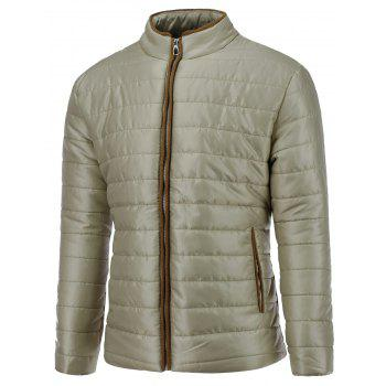 Slimming Thicken Stand Collar Down Jacket
