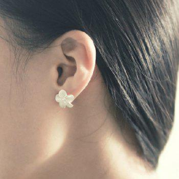 Floral Shape Fake Crystal Earrings