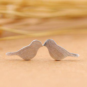Alloy Birds Shape Stud Earrings