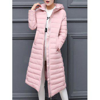 Hooded Long Puffer Coat