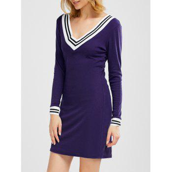 Cricket Long Sleeve Knitted Sweater Shirt Dress