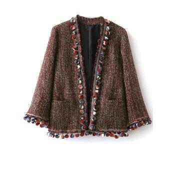Pom Pom Tweed Jacket