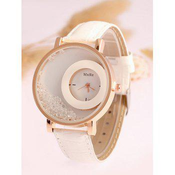 Drift Sand Faux Leather Watch