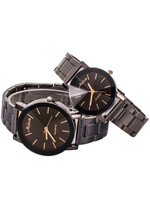 Pair of Vintage Couple Watches, Black