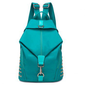 Rivet Nylon Backpack