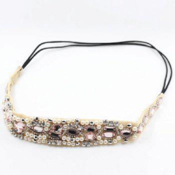 Stylish Fashion Rhinestone Inlaid Hairband For Women