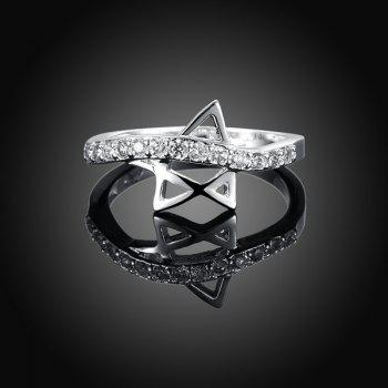 Star Rhinestone Ring