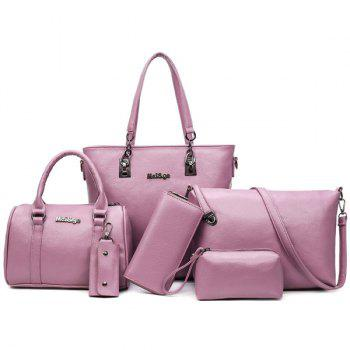 Handbag Tote 6 Pc Set