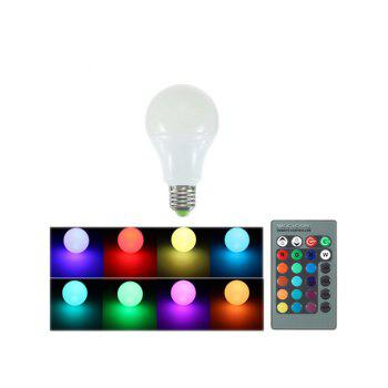 Color Changing Romote Control Energy Saving LED Bulb Light