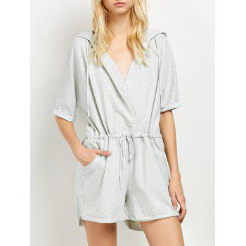 Hooded Terry Romper