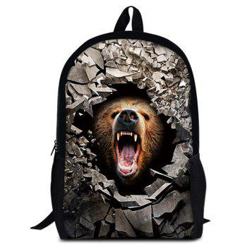 Animal Rubble 3D Print Backpack