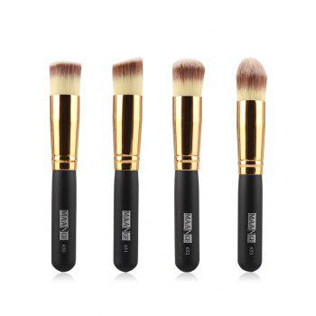 4 Pcs Foundation Makeup Brushes Set