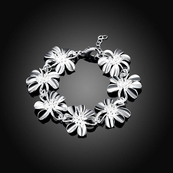 Sunflower Chain Bracelet - SILVER