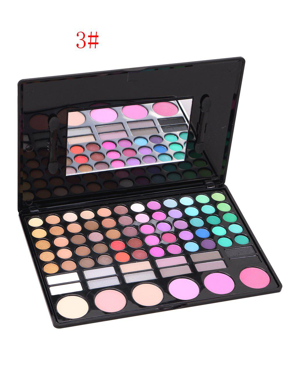 78 Colours Eyeshadow Blush Makeup Kit - 03