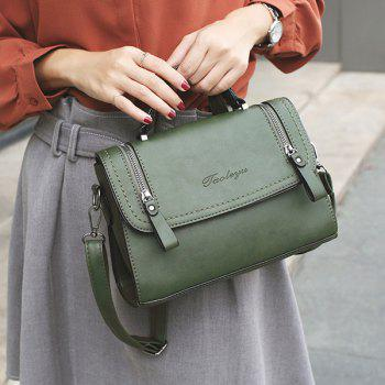 Zip Flap Satchel