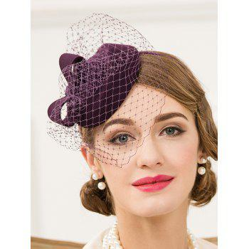 Veil Pillbox Hairband Hat