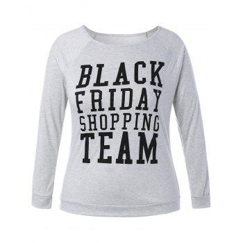 Plus Size Black Friday Christmas T-Shirt