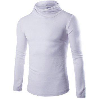 Slim Fit Pullover High Neck Knitwear