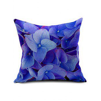 Linen Floral Printed Car Seat Cushion Pillow Cover