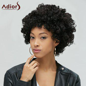 Shaggy Short Full Bang Afro Curly Synthetic Hair Wig