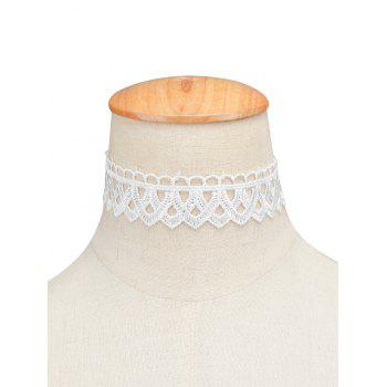 Vintage Lace Geometric Choker Necklace