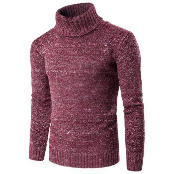 Knit Blends Roll Neck Long Sleeve Sweater