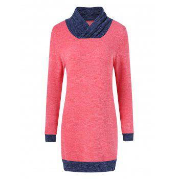 Elbow Patch Longline Knitwear