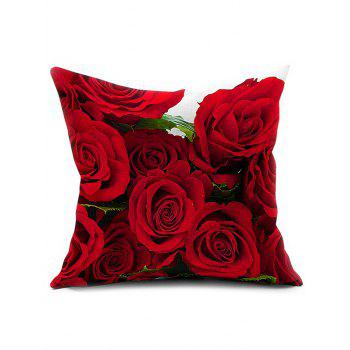 3D Rose Flower Cushion Home Decoration Pillow Cover