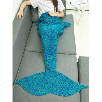 Crocheting Mermaid Blanket Throw