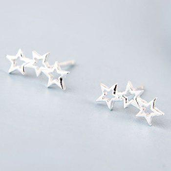 Pair Of Star Stud Earrings