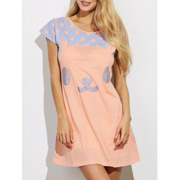 Cartoon Lounge Tee Dress