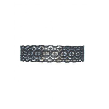 Vintage Lace Choker Necklace - BLACK