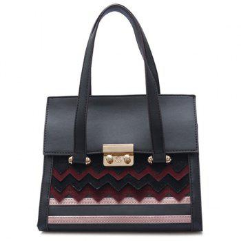 Zigzag Stripes Handbag