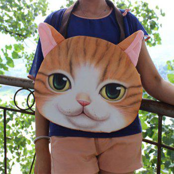 3D Print Cat Face Shaped Shoulder Bag