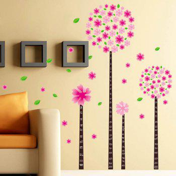 Removable DIY Flower Home Decor Wall Stickers