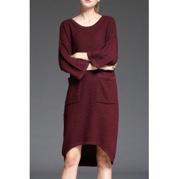 High Low Dress With Pocket