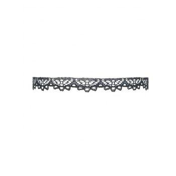 Hollowed Lace Choker Necklace