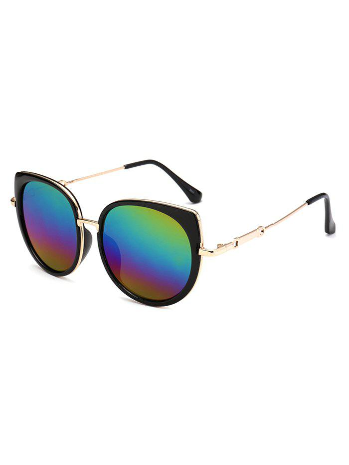 2018 Polarized Cat Eye Mirrored Affordable Sunglasses COLORFUL In ...