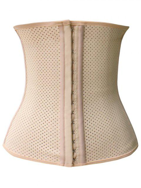 7259f83684f 2018 Meshed Steel Boned Underbust Corset APRICOT S In Corset ...