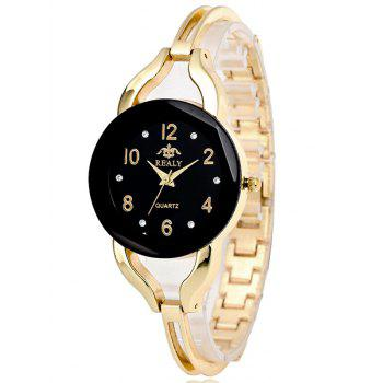 Rhinestone Bracelet Stainless Steel Watch