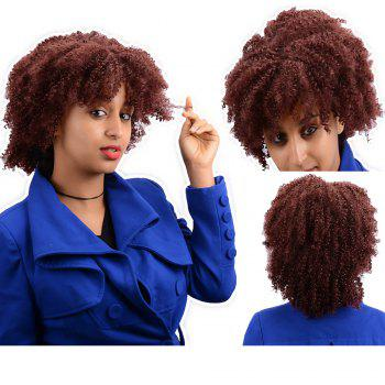 Prevailing Short Afro Curly Synthetic Wig