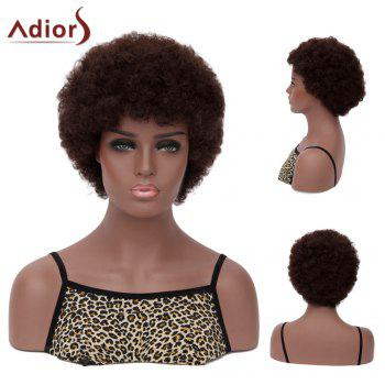 Adiors Hair Neat Bang Short Afro Curly Synthetic Wig